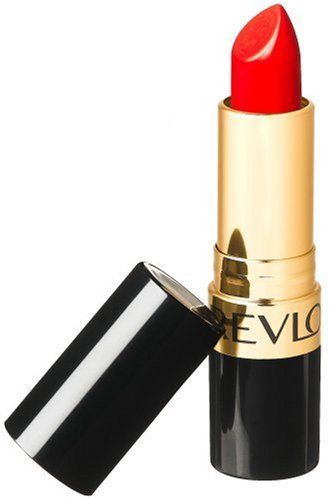Revlon Super Lustrous Lipstick Creme, Love That Red 725, 0.15