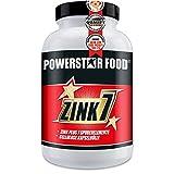 ZINK 7 - DOSE ELEVEE - Zinc + 7 oligo-éléments - Gestion de la testostérone, peau et cheveux, système immunitaire, Synthèse de protéines - VEGAN - 120 capsules à 25 mg de zinc - MADE IN GERMANY