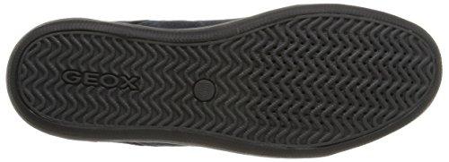 Geox U Box E, Sneakers Hautes homme Bleu (C4264)