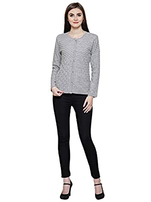 Matelco Women's Woolen Long Knitted Poncho (Free Size)