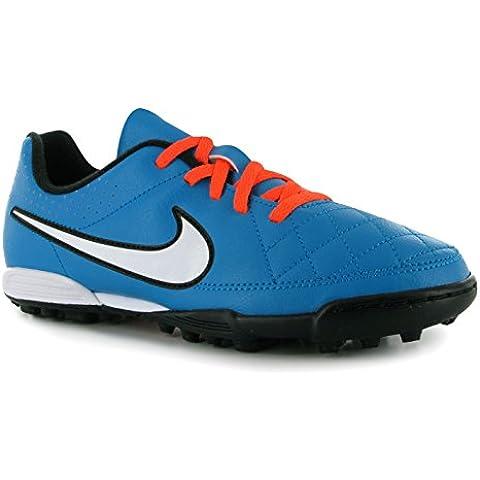 Botas Nike Tiempo Rio II TF Junior -Azul-
