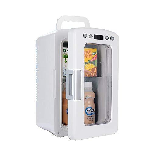 12L de un Solo núcleo Mini refrigerador para el hogar Hogar, refrigerador y Calentador Compacto y portátil para Viajes en automóvil, Camping, Pesca 14.17 * 11.81 * 17.51 Pulgadas