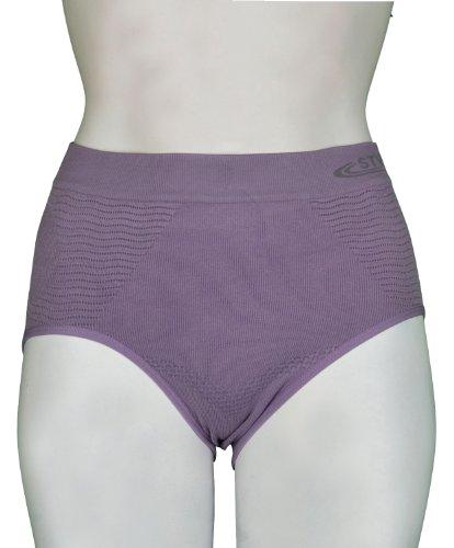 STV Unterhose, Damen, nahtlos, Unterstützung für den Bauch, Shaper, Größe 36bis 52 Violett - Violett