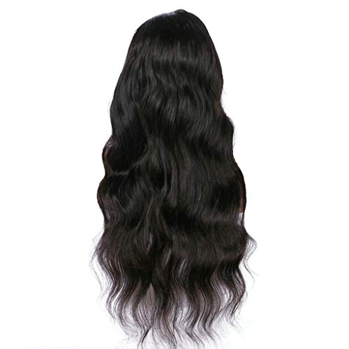 Natürliche volle Spitze Steigungs Perücke langes gelocktes Haar synthetische Perücke Mode Kostüm Perücke