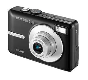 """Samsung S1070 Appareil photo numérique Ecran LCD intelligent 2,7"""" 10,2 MP Zoom optique x3 Stabilisé Noir"""