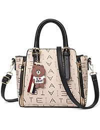 f3ae01006e049 Haiwan Mode Printing Umhängetasche Damen Leder Handtasche Klein Shopper  Einkaufen Schultertasche Office Party Handtaschen Frauen…