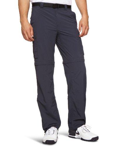 Columbia 2-in-1 Wanderhose für Herren, Silver Ridge Convertible Pants, Nylon, dunkelblau (Abyss), Größe: 32, AM8004