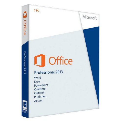 Microsoft Office Professional 2013 Medialess Lizenz-Key
