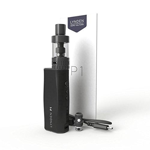 LYNDEN P1 von e Zigaretten Set Subox Mini Starterset 0.2ohm 10-50W einfache Bedienung, handlich, leistungsstark,ohne nikotin Schwarz
