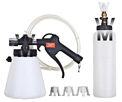 Wondermantools®, pompa ad aspirazione ad aria per spurgo di freni e frizione, l'operazione può essere effettuata da una sola perso