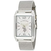 U.S. Polo Assn. Classic Men's USC80358 Analog Display Quartz Silver-Tone Watch