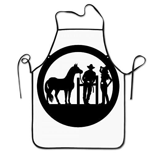 Funny Club Hipster Cowboy-Cowgirl Basic Apron Cowgirl Mitt