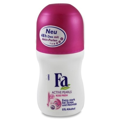 Fa Deo Roll-On Active Pearls Rose Fresh, 50 ml