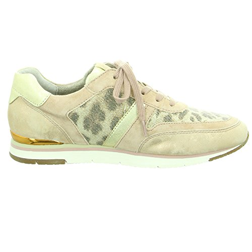 Gabor Fashion, Sneakers Basses Femme Beige (rame/rouge/platino 43)