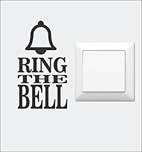 Asmi Collections Ring The Bell Wall Sticker for Light Switches