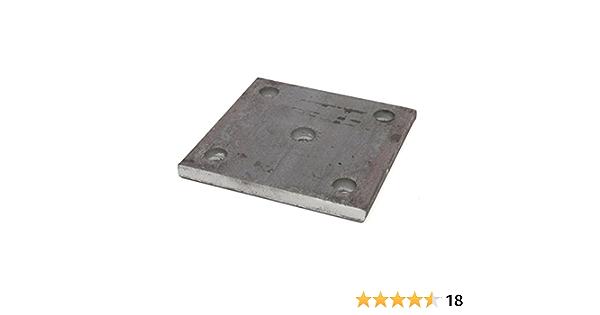 Stahlplatte Ankerplatte Blechplatte von 100-600 mm und St/ärken von 5-30 mm 120x120x5