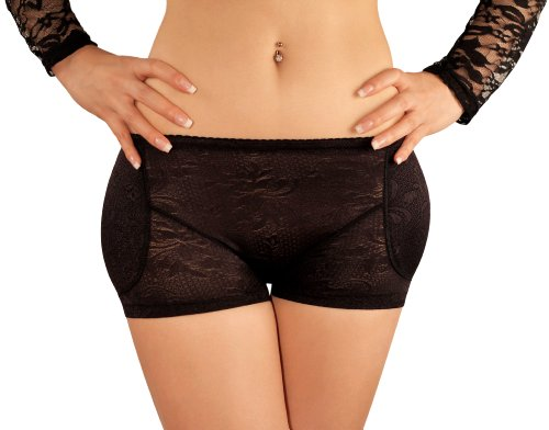 sodacoda-boyshort-foam-padded-hip-and-butt-enhancer-with-tummy-control-lowrise-lace-black-xxxl