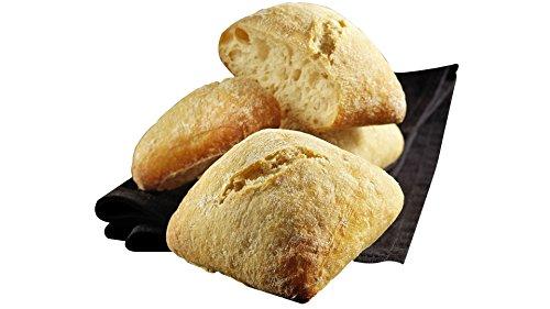 Petits pains carrés BIO - 6 x 50 g - Surgelé