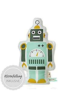 Ferm Living - Coussin Mister Small Robot