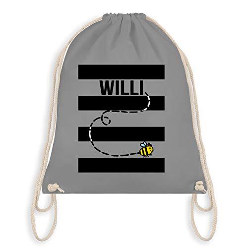 Karneval & Fasching - Bienen Kostüm Willi - Unisize - Hellgrau - WM110 - Turnbeutel & Gym Bag