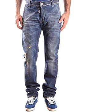 Daniele Alessandrini Hombre MCBI086430O Azul Algodon Jeans
