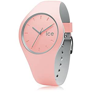 ice watch ice duo pearl blush rosa damenuhr mit. Black Bedroom Furniture Sets. Home Design Ideas