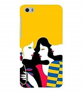 Nextgen Designer Mobile Skin for Huawei Honor 6 Plus (friends Girls Trendy Stylish Gorgeous Girls)
