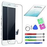 Eumango Kompatibel für iPhone 7 Display Weiß LCD Touchscreen Glas Reparatur Ersatz Bildschirm mit Komplettes Kostenlose Werkzeuge