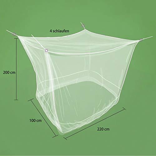 Sekey Moustiquaire pour Lits Simples/Doubles | Écran de Protection Anti-Insectes | Kit de Suspension Complet | Système d'installation Rapide et Facile