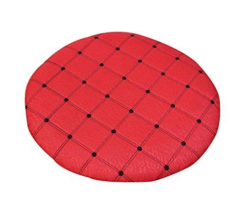 Black Temptation Cojines de Silla cómodos, almohadones Redondos Simples, Rojo