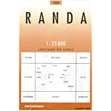 Carte routière : Randa