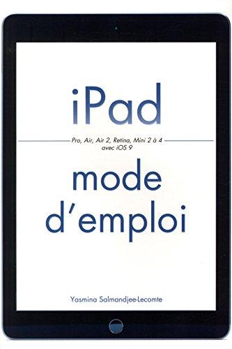 iPad Mode d'emploi