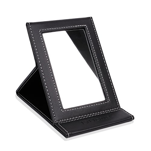 DUcare Tabletop Makeup Mirror Portable Folding Mirrors Small
