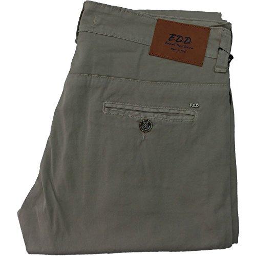 Eredi del duca pantalone 1005 uomo - Elasticizzato 97% cotone 3% elastane, made in italy, Beige
