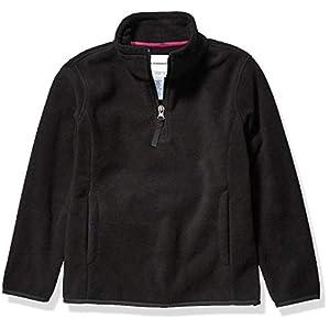 Amazon-Marke: Amazon Essentials Mädchen Quarter-Zip Polar Fleece Jacket