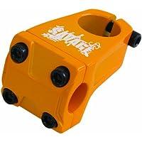 Savage - Attacco manubrio BMX, Arancione (arancione), 28.6x22.2mm - Arancione Saddle