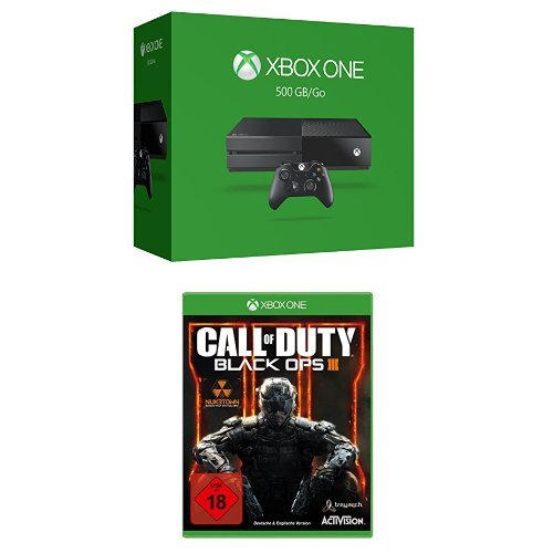 Xbox One 500 GB 2015 + Call of Duty: Black Ops 3 - Day One Edition
