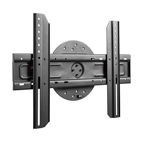 TooQ LP3770F-R Wandhalterung für Monitor/TV/LED von 37 bis 70 Zoll bis 50 kg mit 360-Grad-Drehung, Wandabstand 51 mm, VESA bis 600x400, schwarz