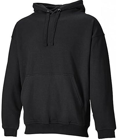 Dickies Mens Workwear Hooded Sweatshirt Black sh11300b noir noir L