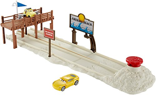 Cars 3 Fireball Beach Set Mattel Spain DVT47