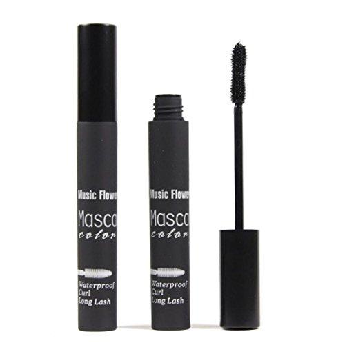 Internet Colorful Cils Maquillage imperméable longue Curling Mascara Cils Extension Noir