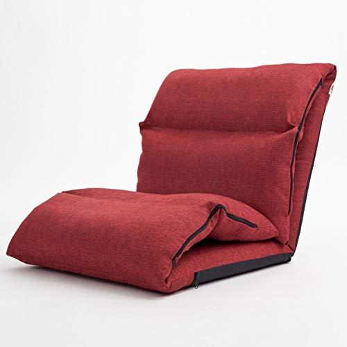JIE KE Lounge Sofa Stuhl Klappboden Liege, Lazy Floor Schlafzimmer Kleine Wohnung Single Balkon...
