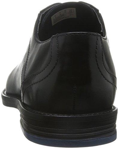 Clarks Prangley Walk, Scarpe Uomo Nero (cuir Noir)