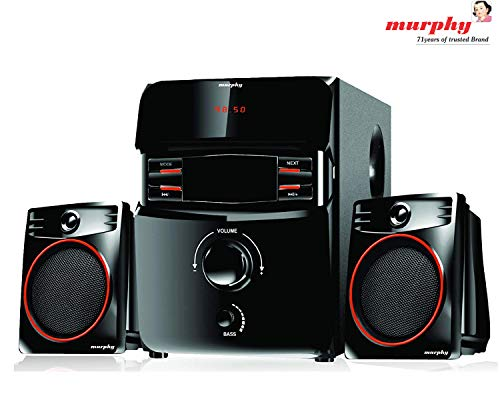 murphy MSD2100 2.1 Channel Digital Bluetooth Home Theater & Home Cinema Multimedia Speaker System (Bluetooth,FM,MP3 AUX)