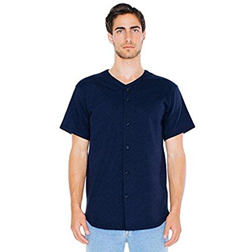 American Apparel Herren Modern T-Shirt Gr. XS, navy (Navy Dye Tie Old)