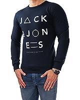 JACK & JONES Herren Sweatjacke 12059554 STORM SWEAT