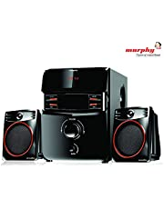 murphy MSD2100 2.1 Channel Digital Bluetooth Home Theater & Home Cinema Multimedia Speaker System (Bluetooth,FM,MP3 AUX)