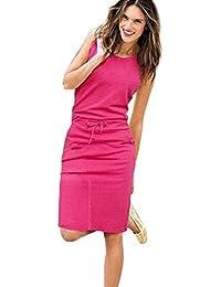 Vestidos Mujer Casual,Modaworld ❤ Vestidos de Fiesta Casual de Playa de Verano para Mujer Vestido sin Mangas Sexy Vestir Ropa…