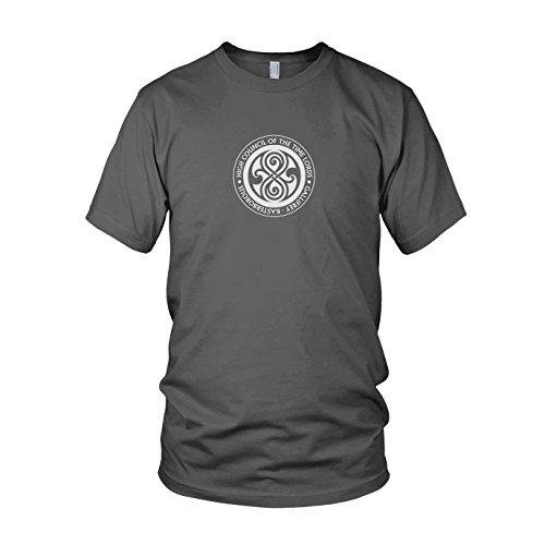 High Council of the Time Lords - Herren T-Shirt, Größe: XL, Farbe: grau