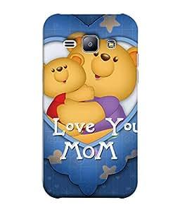 PrintVisa Designer Back Case Cover for Samsung Galaxy J1 (2015) :: Samsung Galaxy J1 4G (2015) :: Samsung Galaxy J1 4G Duos :: Samsung Galaxy J1 J100F J100Fn J100H J100H/Dd J100H/Ds J100M J100Mu (Teddy bears Funny toys)